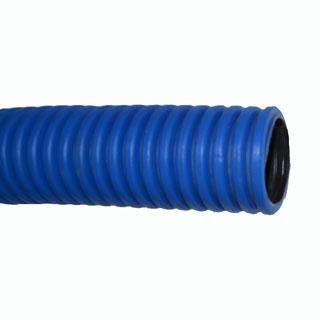 Труба защитная гофрированная двухстенная d 110 мм. Синяя